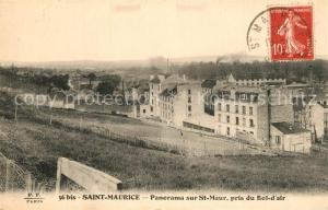 AK / Ansichtskarte Saint Maurice_Creteil Panorama vue prise du Bol d air Saint Maurice Creteil