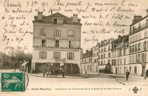AK / Ansichtskarte Saint Maurice_Creteil Carrefour de la Grande Rue et Quai de la Republique Saint Maurice Creteil