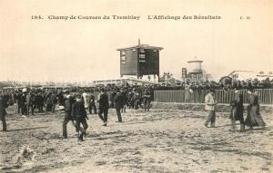 AK / Ansichtskarte Champigny sur Marne Champ de Courses du Tremblay Affichage des Resultats Hippodrome Champigny sur Marne