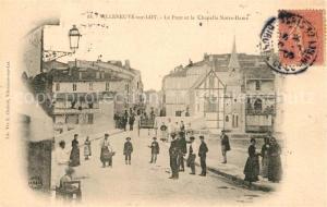 AK / Ansichtskarte Villeneuve sur Lot Pont et Chapelle Notre Dame Villeneuve sur Lot