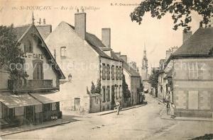 AK / Ansichtskarte Saint Pourcain sur Besbre Rue de la Republique Saint Pourcain sur Besbre