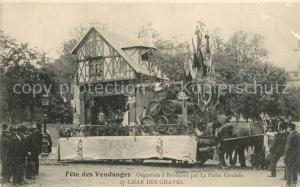 AK / Ansichtskarte La_Roche Chalais Fete des Vendanges Char des Graves La_Roche Chalais