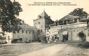 AK / Ansichtskarte La Bauche les Bains Etablissement