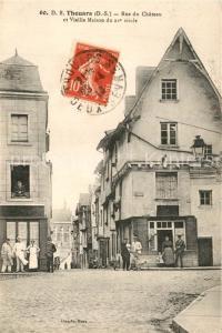 AK / Ansichtskarte Thouars_ Deux Sevres Rue du Chateau