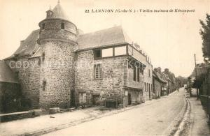 AK / Ansichtskarte Lannion Vieilles maisons de Kerampont Lannion