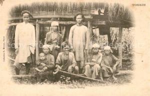 AK / Ansichtskarte Tonkin Famille Muong Tonkin