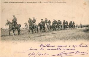 AK / Ansichtskarte Tonkin Chasseurs annamites en reconnaissance Tonkin