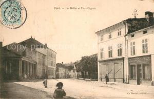 AK / Ansichtskarte Void Vacon Les Halles et Place Cugnot Void Vacon