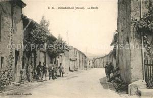 AK / Ansichtskarte Longeville en Barrois La Ruelle Longeville en Barrois
