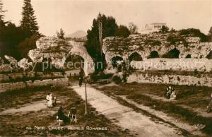 AK / Ansichtskarte Cimiez Ruines Romaines Cimiez