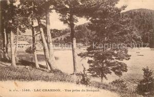 AK / Ansichtskarte Lac_Chambon Vue prise du Bosquet