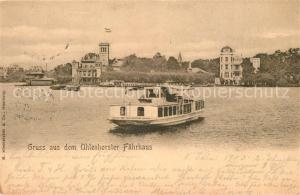 AK / Ansichtskarte Uhlenhorst Faehrhaus Uhlenhorst