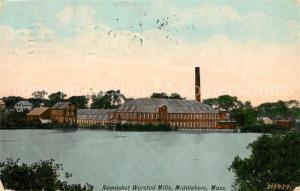 AK / Ansichtskarte Middleboro Nemasket Worsted Mills