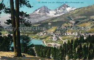 AK / Ansichtskarte St_Moritz_GR Panorama St_Moritz_GR
