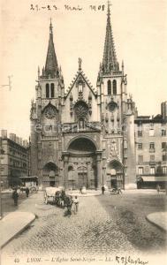 AK / Ansichtskarte Lyon_France Eglise Saint Nizier Lyon France