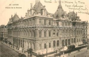 AK / Ansichtskarte Lyon_France Palais de la Bourse Lyon France
