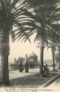 AK / Ansichtskarte Nice_Alpes_Maritimes La Jetee Promenade les Palmiers Nice_Alpes_Maritimes