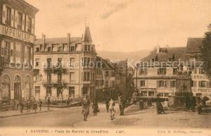 AK / Ansichtskarte Saverne_Bas_Rhin_Alsace Place de Marche Grand Rue Saverne_Bas_Rhin_Alsace