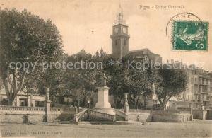 AK / Ansichtskarte Digne les Bains Statue Gassendi Digne les Bains