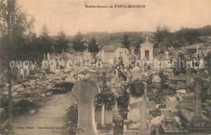 AK / Ansichtskarte Pont a Mousson Bombardement Pont a Mousson
