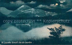 AK / Ansichtskarte Lourdes_Hautes_Pyrenees Lac Mondschein Lourdes_Hautes_Pyrenees