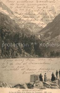 AK / Ansichtskarte Cauterets Lac de Gaube Glaciers du Vienemale Cauterets