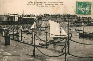 AK / Ansichtskarte Saint Malo_Ille et Vilaine_Bretagne Mole Saint Malo_Ille et Vilaine