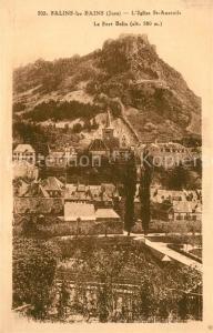 AK / Ansichtskarte Salins les Bains Eglise Saint Anatoile Fort Belin Salins les Bains