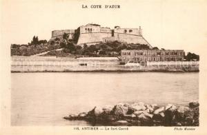 AK / Ansichtskarte Antibes_Alpes_Maritimes Fort Carre Antibes_Alpes_Maritimes