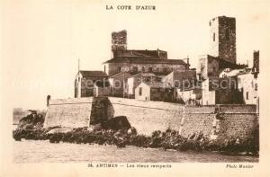 AK / Ansichtskarte Antibes_Alpes_Maritimes Vieux remparts Antibes_Alpes_Maritimes