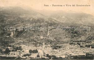 AK / Ansichtskarte Susa Panorama Vitta del Rocciamelore Susa