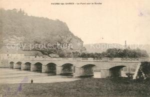 AK / Ansichtskarte Baume les Dames Pont sur le Doubs Baume les Dames