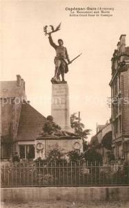 AK / Ansichtskarte Capdenac Gare Monument aux Morts Capdenac Gare