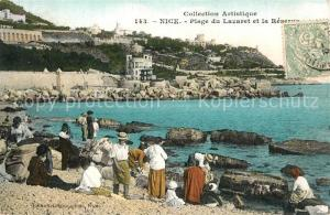 AK / Ansichtskarte Nice_Alpes_Maritimes Plage du Lazaret Reserve Nice_Alpes_Maritimes