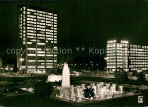 AK / Ansichtskarte Berlin Ernst Reuter Platz Nachtaufnahme Berlin