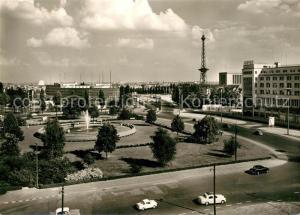AK / Ansichtskarte Berlin Reichskanzlerplatz Funkturm Berlin