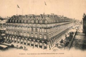 AK / Ansichtskarte Paris Grands Magasins du Louvre Paris