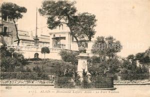 AK / Ansichtskarte Alais Monument Lafare Alais Fort Vauban Alais