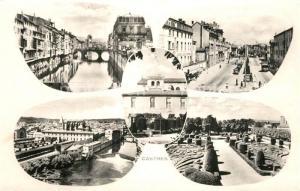 AK / Ansichtskarte Castres_Tarn Bords de l Agoût Esplanade Boulevard Carnot Jardin de l Eveche vue panoramique Castres_Tarn