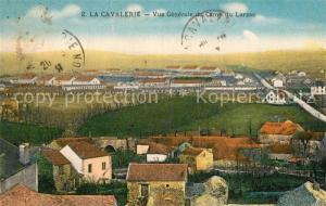 AK / Ansichtskarte La_Cavalerie Vue generale du Camp du Larzac La_Cavalerie