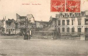 AK / Ansichtskarte Baccarat Rue des Ponts Baccarat