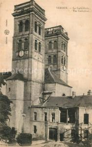 AK / Ansichtskarte Verdun_Meuse La Cathedrale Verdun Meuse