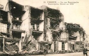 AK / Ansichtskarte Verdun_Meuse La rue Beaurepaire Verdun Meuse