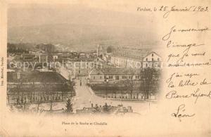 AK / Ansichtskarte Verdun_Meuse Place de la Roche Citadelle Verdun Meuse
