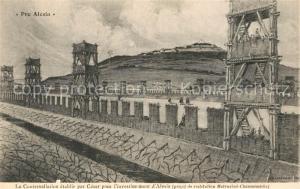 AK / Ansichtskarte Alesia(Roman War)_Alise Sainte Reine Contrevallation par Cesar pour investissement
