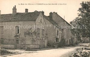 AK / Ansichtskarte Verrey sous Salmaise Rue de Giboux Verrey sous Salmaise