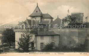 AK / Ansichtskarte Montignac_Dordogne Schloss Montignac Dordogne
