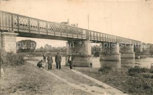 AK / Ansichtskarte Saint Cornier des Landes Eisenbahnbruecke Saint Cornier des Landes