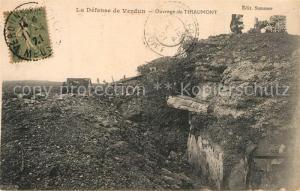 AK / Ansichtskarte Verdun_Meuse Ouvrage de Thiaumont Verdun Meuse