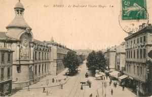 AK / Ansichtskarte Nimes Boulevard Victor Hugo Nimes